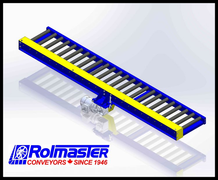 Chain Driven Live Roller Conveyors Rolmaster Conveyors