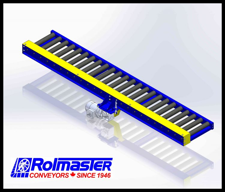 Chain Driven Live Roller Conveyors | Rolmaster Conveyors